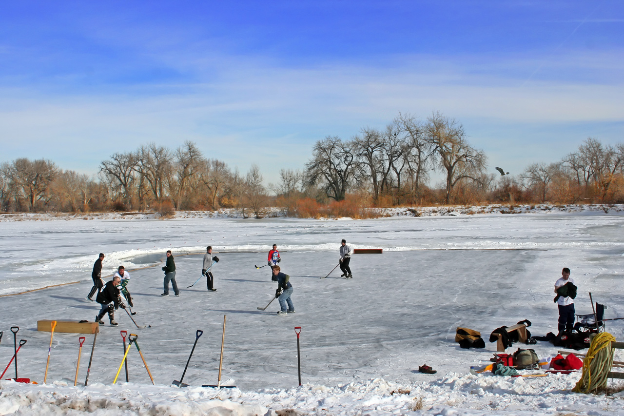 Image result for pond hockey